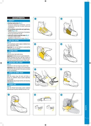 Salomon Technical Manual 2012 | Knee | Shoe