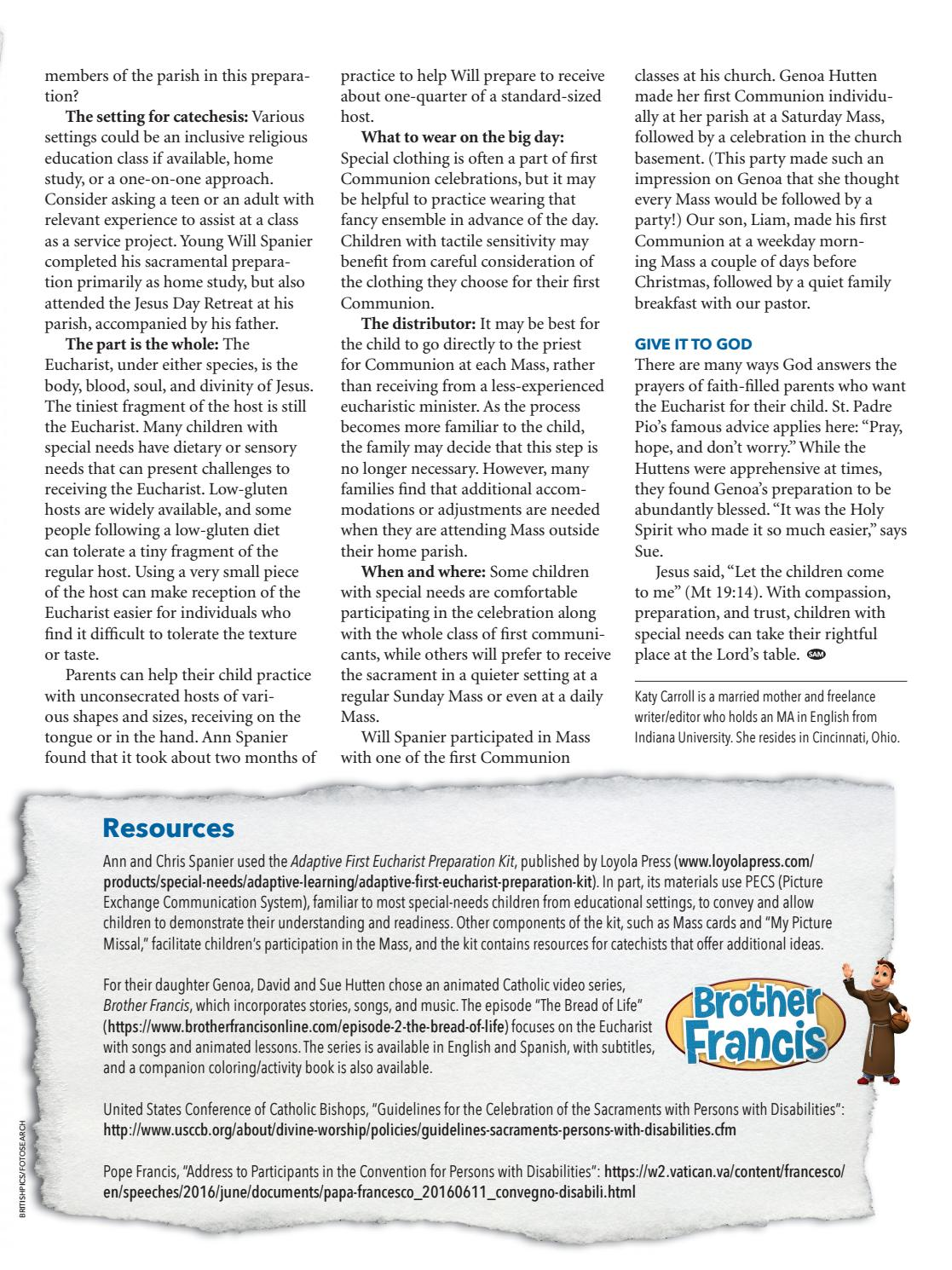 St  Anthony Messenger May 2018 by Franciscan Media - issuu