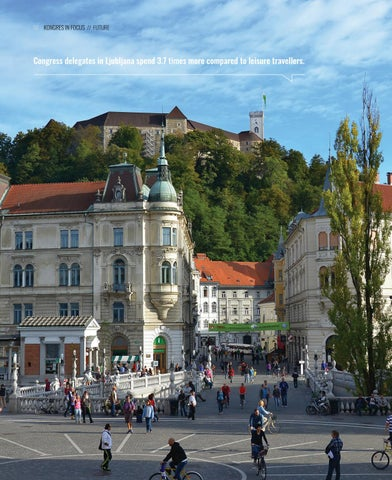 Page 10 of Congress delegates in Ljubljana spend 3.7 times more compared to leisure travellers