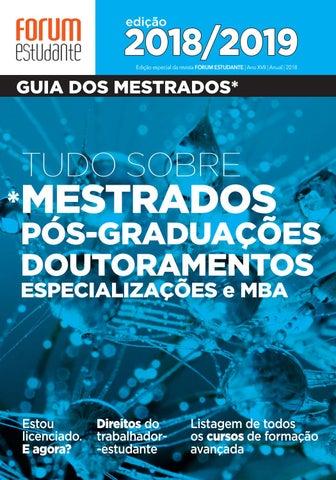 Guia dos Mestrados 2018 by Forum Estudante - issuu 3e9ad2bec3