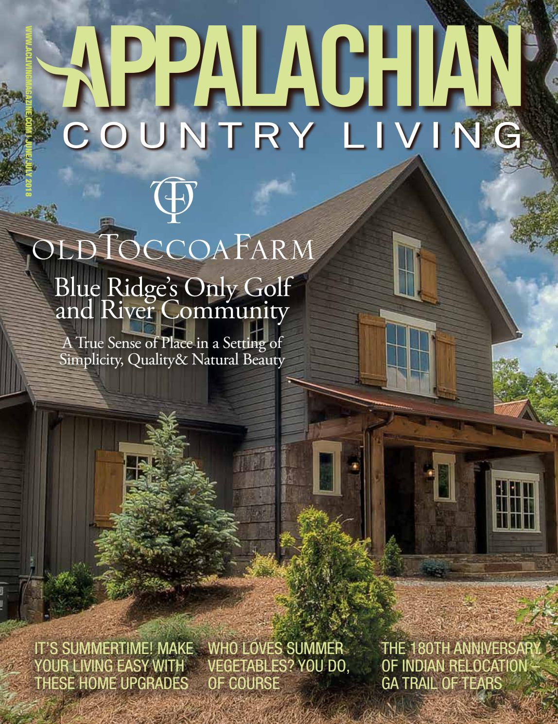 Appalachian Country Living Magazine June July 2018 By
