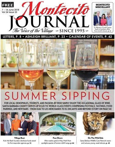 Summer Sipping by Montecito Journal - issuu