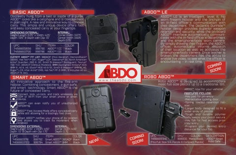 Page 14 of ABDO™ by EAA Corp.