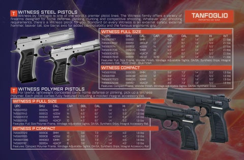 Page 2 of Witness Series by TANFOGLIO®