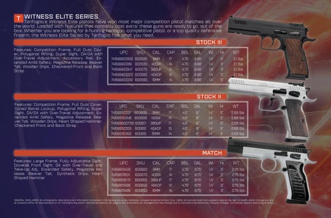 Page 4 of Witness Elite Series by TANFOGLIO®