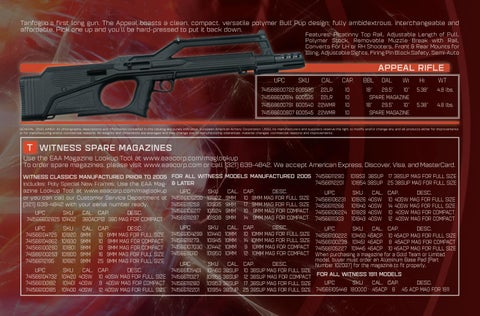 Page 9 of Appeal Rifle by TANFOGLIO™