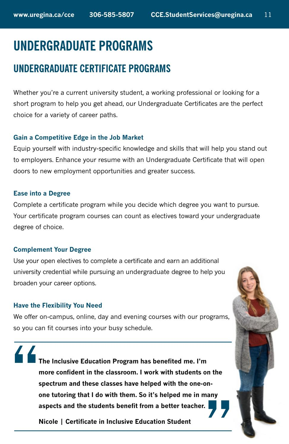 Centre For Continuing Education Program Guide Fall 2018 By