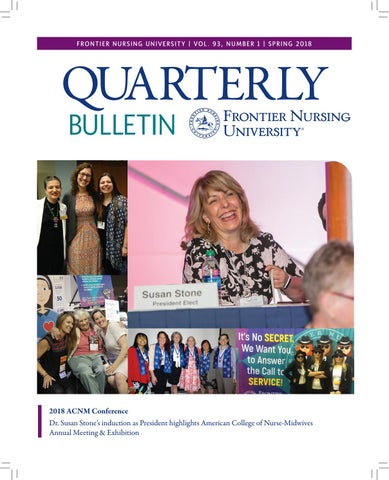 Fnu Quarterly Bulletin Spring 2018 Volume 93 Number 1 By Frontier