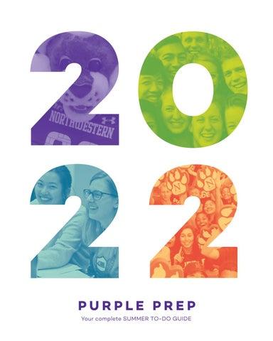 Northwestern Academic Calendar 2022.Purple Prep For The Class Of 2022 By Northwestern University Student Affairs Issuu