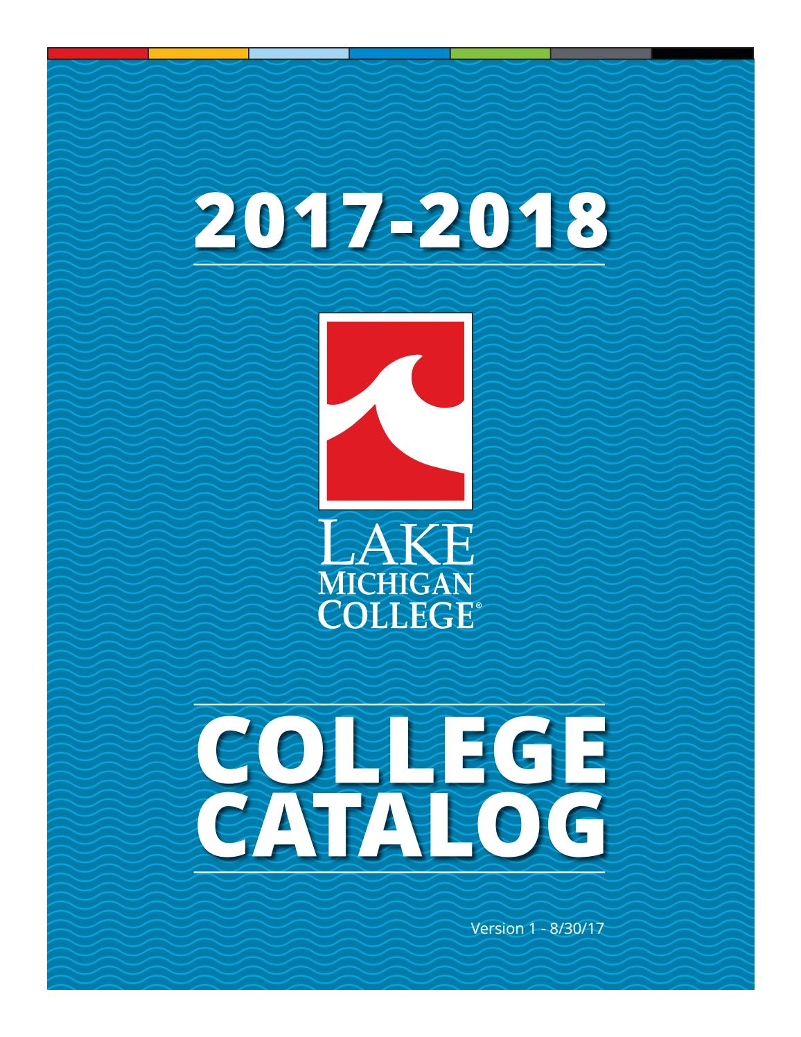 2017 18 College Catalog V1 By Lake Michigan Issuu Diagram Besides Tig Welder Schematic On Can Bus Light Circuit