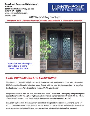 Entrypoint Doors And Windows Of Atlanta 5018 Bristol Way Ste 209 Buford Ga 30518 Www Entrypointatlanta 770 904 0094