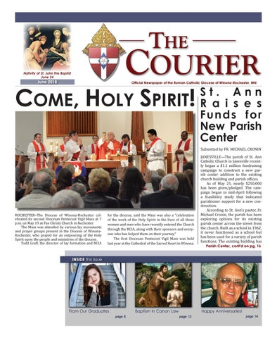 The Courier - June 2018 by Diocese of Winona-Rochester - issuu