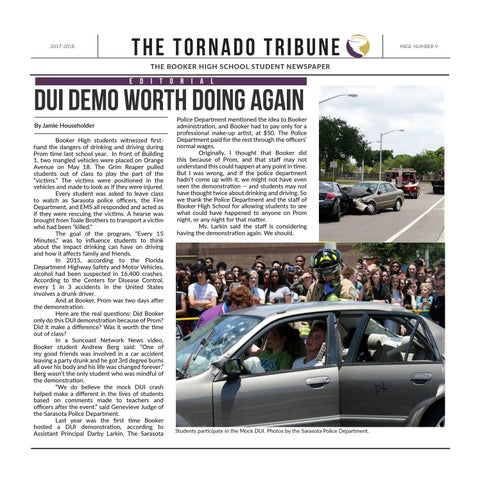 Page 9 of DUI demo worth doing again