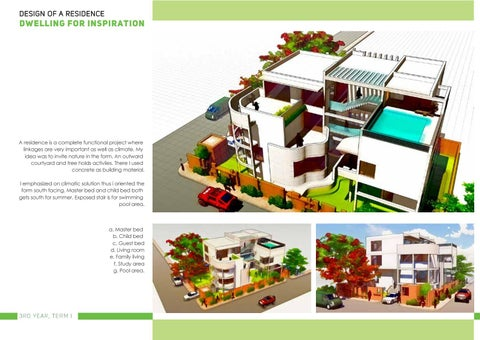 Page 49 of Dwelling for Inspiration : Design of a Residence
