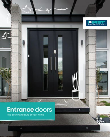First Entrance Doors Brochure By Apl Architectural Profiles Ltd