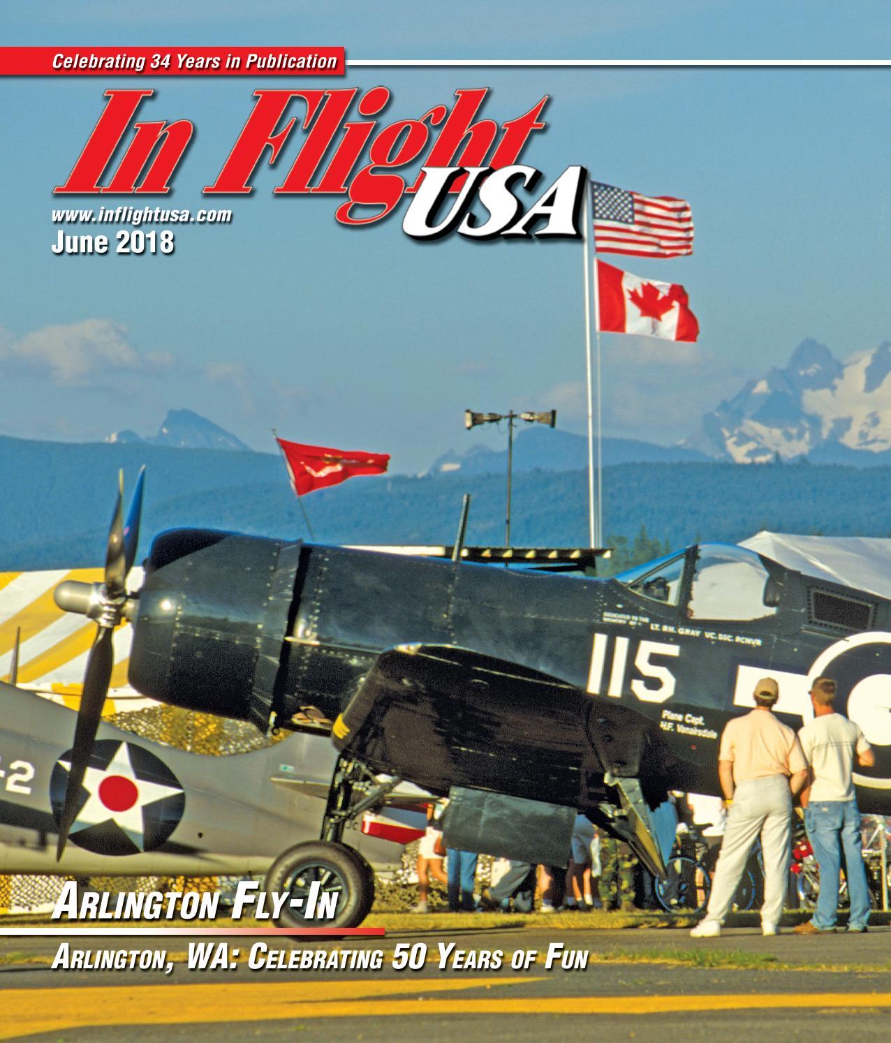 In Flight USA June 2018 by Anne Dobbins - issuu