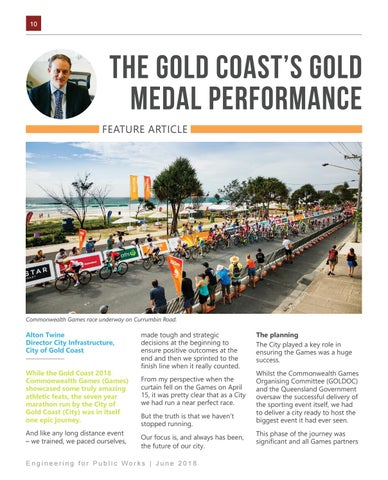 Page 10 of The Gold Coast's Gold Medal Performance