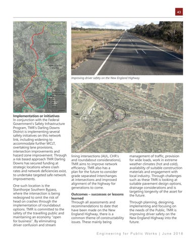 Page 43 of Safety and Freight on the New England Highway - Darling Downs District's Strategic Approach