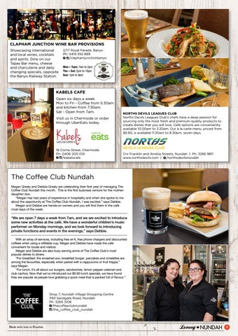 Page 9 of Loving Nundah #34 Food Guide