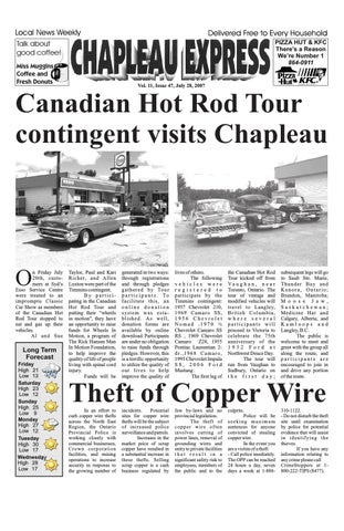 07282007 July 28 2007 by The Chapleau Express - issuu