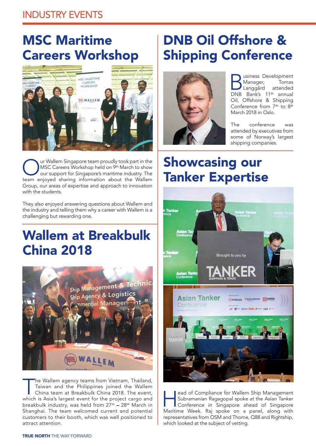 True North 2018 Issue 2 by Wallem True North Magazine - issuu