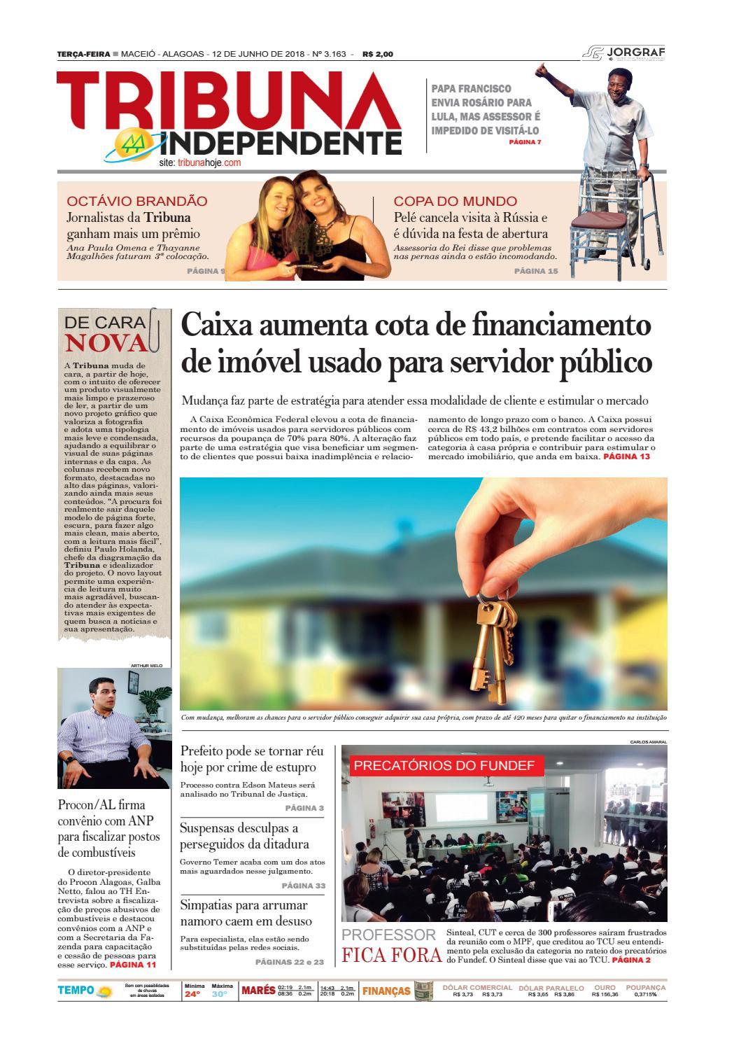 Edição número 3163 – 12 de junho de 2018 by Tribuna Hoje - issuu 132620125f