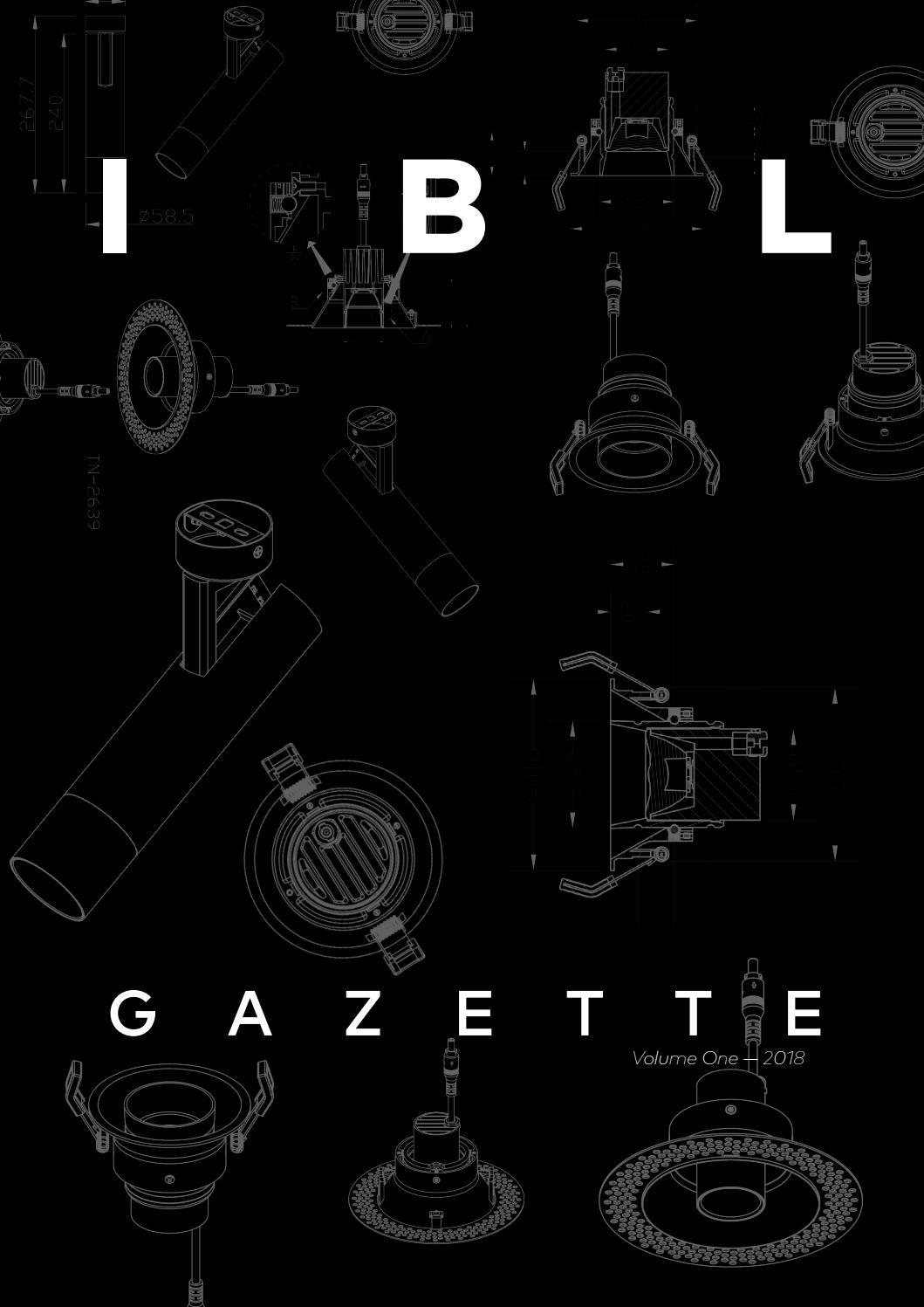 Ibl Gazette Volume One 2018 By Lighting Issuu