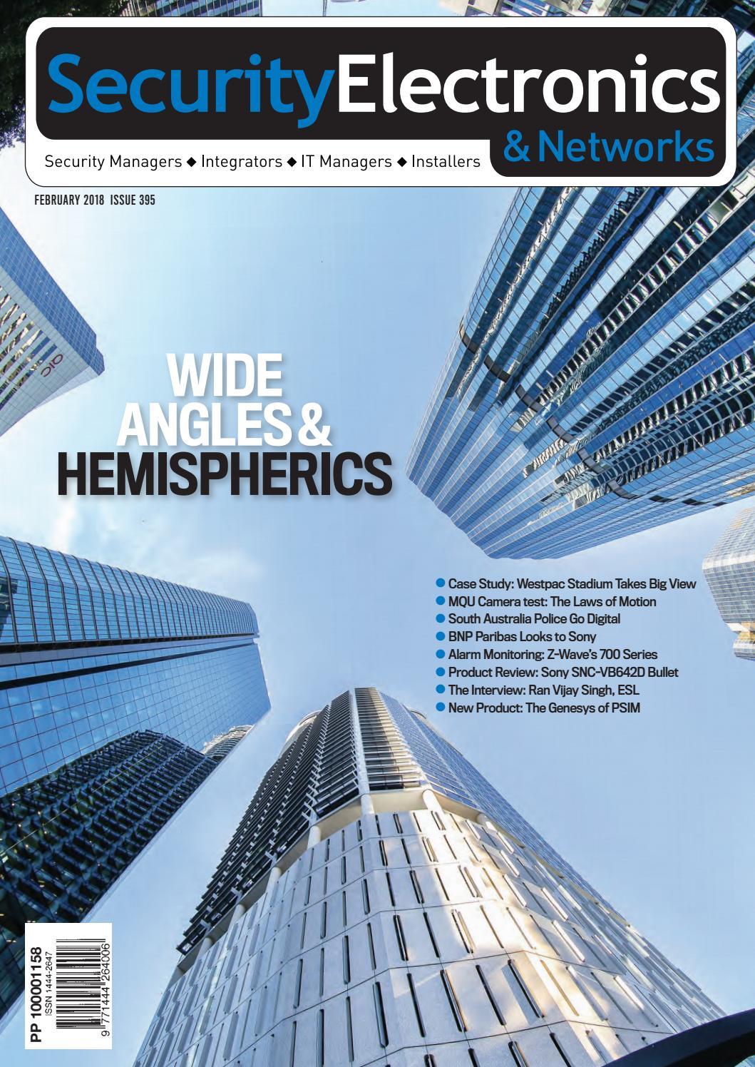 e77c1dac49 Sen feb18 by Security Electronics & Networks Magazine - issuu