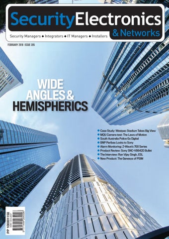 a3f5f7bf369cfd Sen feb18 by Security Electronics   Networks Magazine - issuu