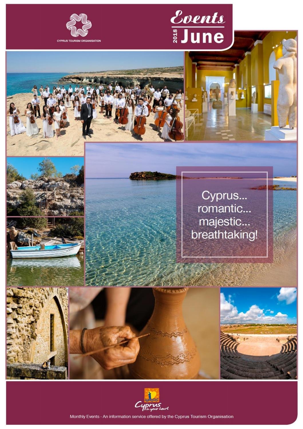 Cyprus events june 2018 by Deputy Ministry of Tourism - issuu