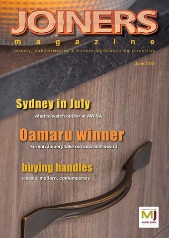 Joiners Magazine June 2018 by Magenta Publishing - issuu