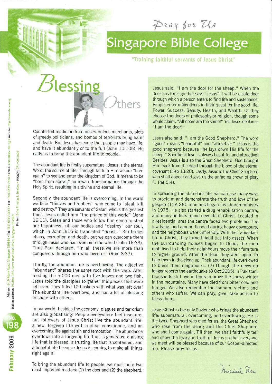 SBC Pray For Us Issue 198 by SBC Communications - issuu