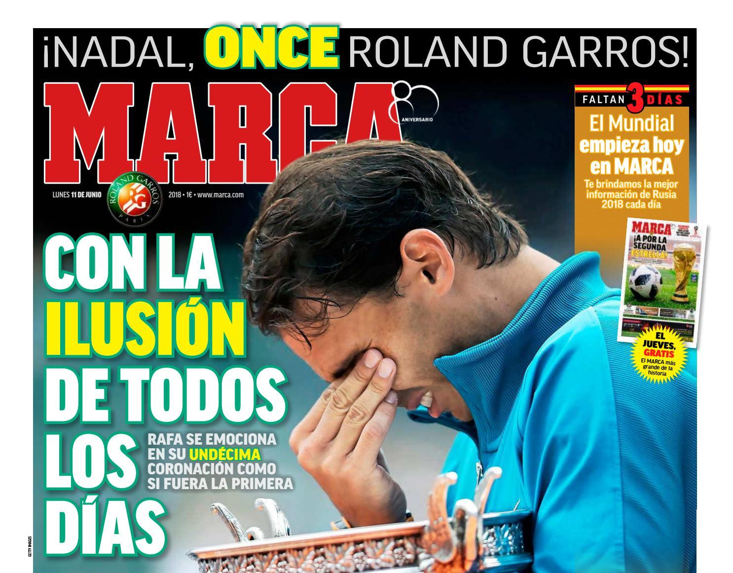 info for ee456 6e9cf Diario Marca (Lunes 11-Junio-2018) by Gerardo Rey - issuu