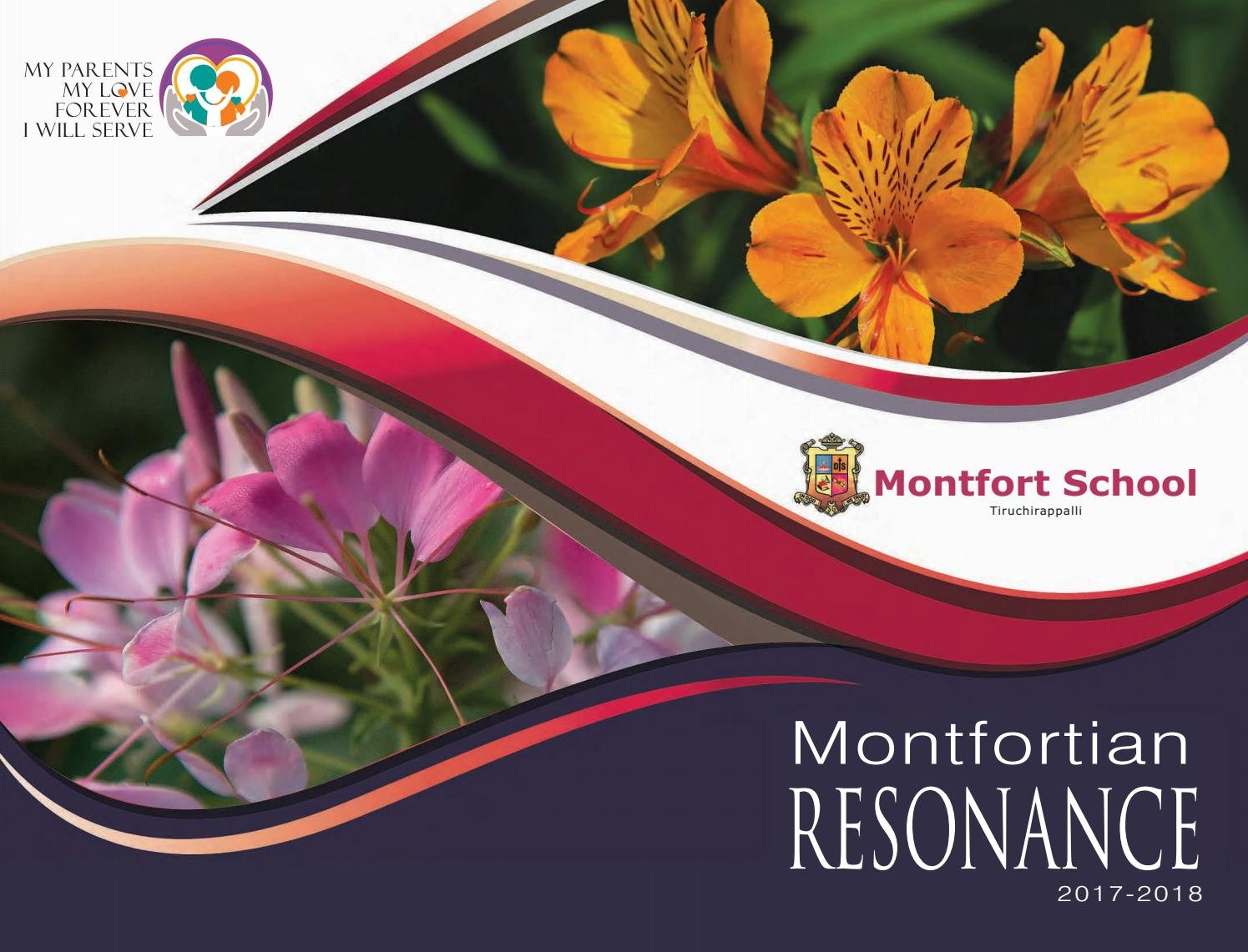 Montfort souviner 2018 (new) by Mark Rathinaraj - issuu