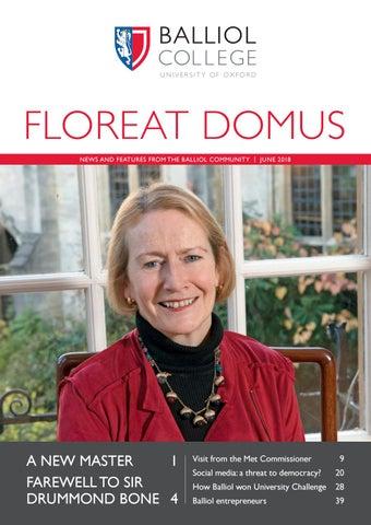 Floreat Domus 2018 By Balliol College Issuu