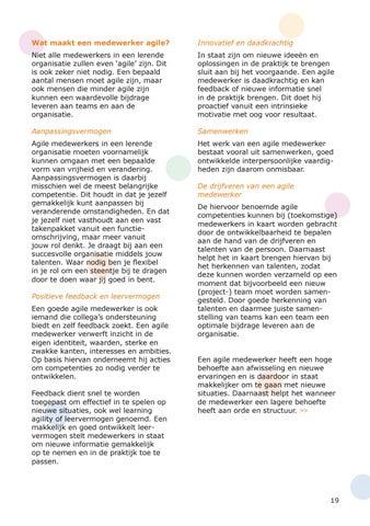 Page 19 of De kracht van de agile medewerker en hoe u uw organisatie tot een lerende organisatie kunt maken