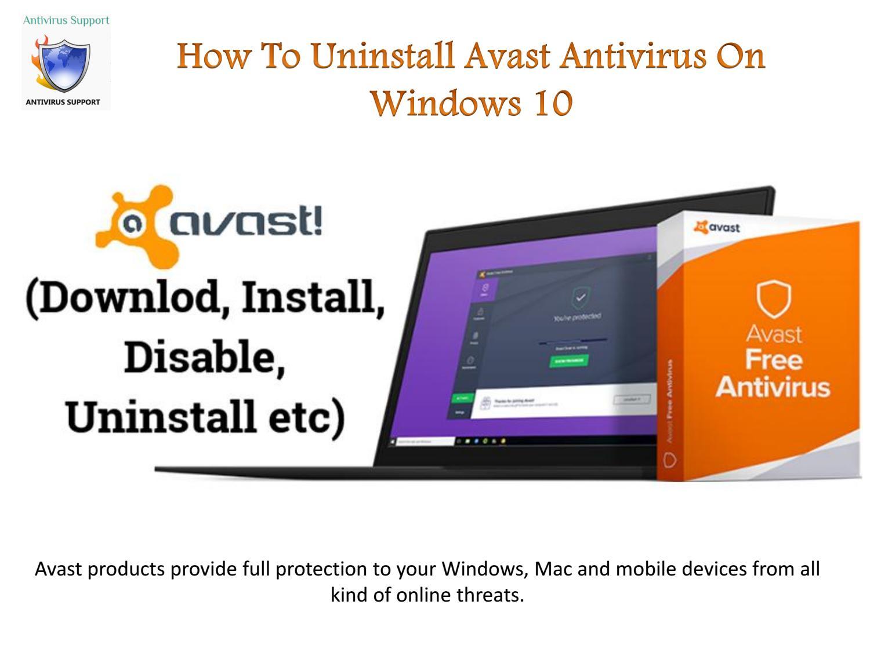 free avast antivirus for windows 10