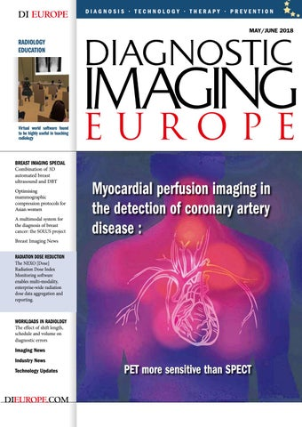Dieurope Mayjune 2018 By Diagnostic Imaging Europe Issuu