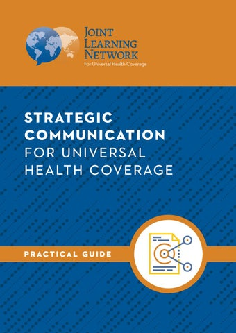 Strategic Communication for Universal Health Coverage Practical Guide