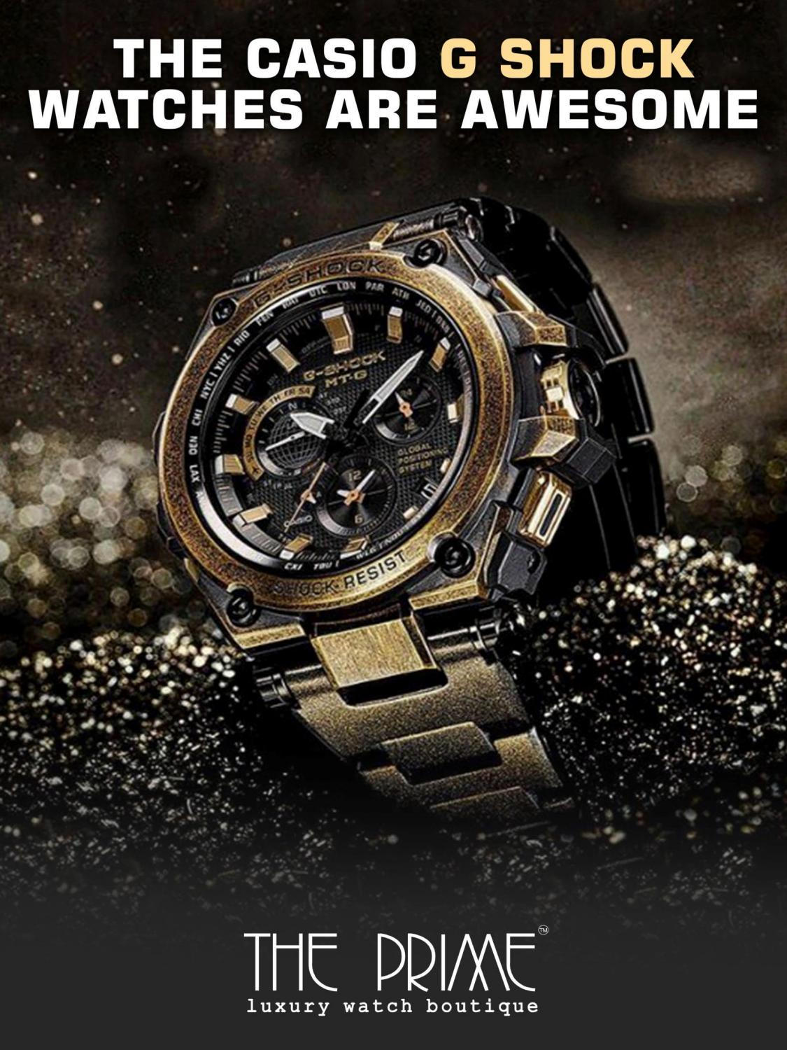 The Casio G Shock Watches Are Awesome By Fashionable Accessories Issuu Steel Gst S120l 1b