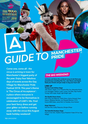 Page 14 of A Guide to Manchester Pride