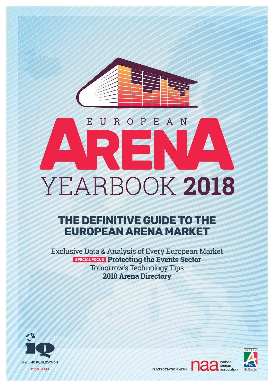 European Arena Yearbook 2018 by IQ Magazine - issuu