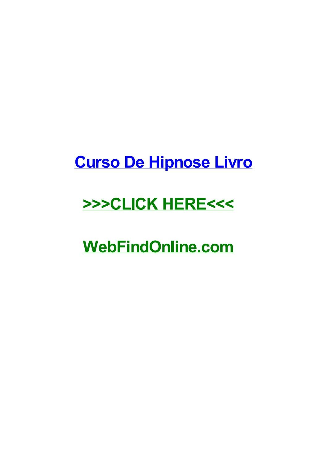 4aee20fa3 Curso de hipnose livro by marcusydbdi - issuu