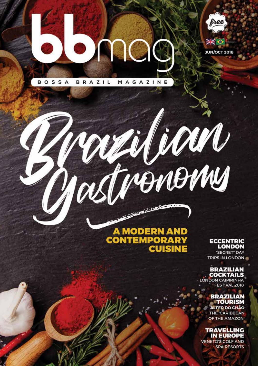 Bossa Brazil Magazine (BBMAG) issue 7 June to October 2018