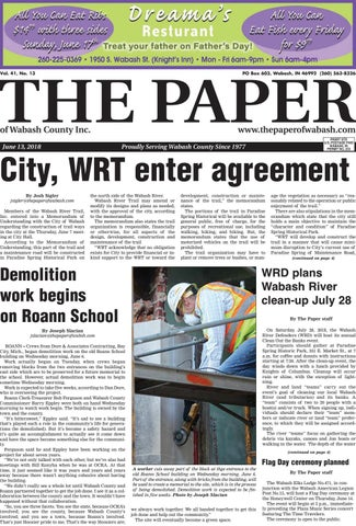 The Paper Of Wabash County June 13 2018 Issue By The Paper Of