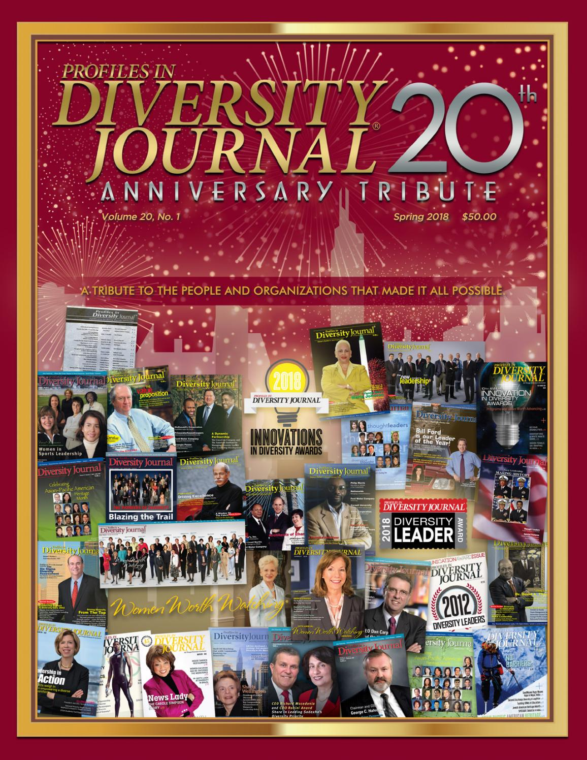 Diversity Journal 20th Anniversary Tribute by Diversity
