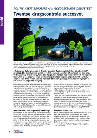 Page 4 of Twentse drugscontrole succesvol