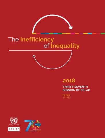 The Inefficiency Of Inequality By Publicaciones De La Cepal