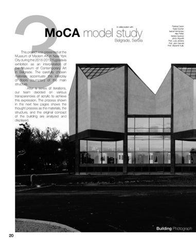 Page 22 of MoCA Model Study
