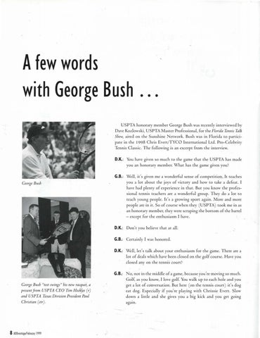 Page 10 of A few words with George Bush...